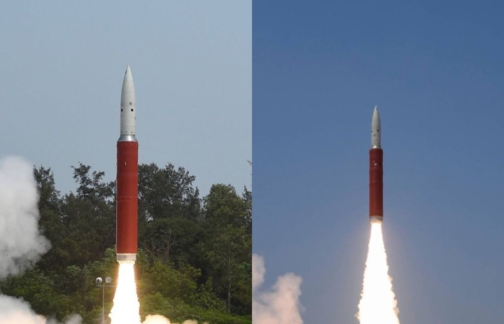 Watch: The First Launch Of India's Satellite-Killer Missile