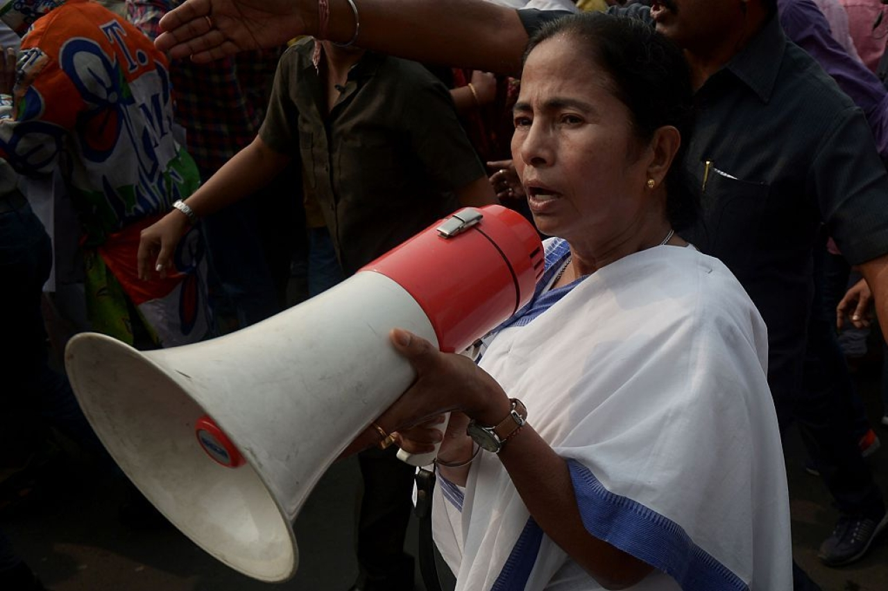 Mamata Banerjee (DIBYANGSHU SARKAR/AFP/Getty Images)