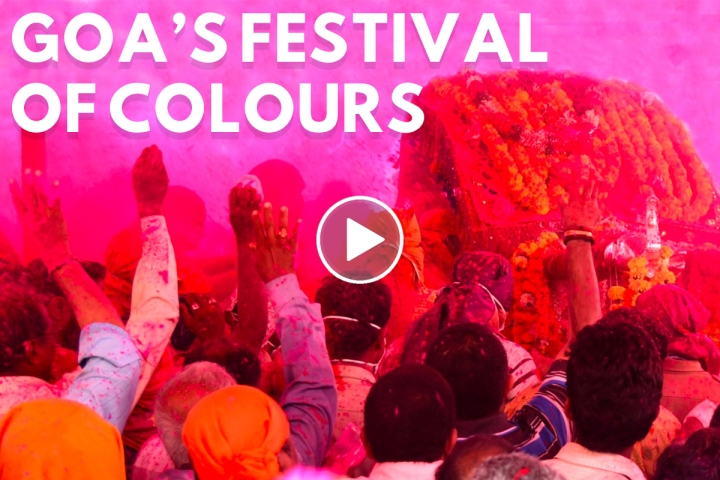 On Holi, Here's A Look At The Riot Of Colour That Is Goa's Gulalotsav