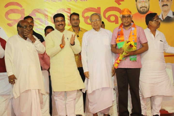 Odisha: Prakash Mishra, Former Director-General Of CRPF, Joins BJP, To Fight Poll From Cuttack Lok Sabha Seat