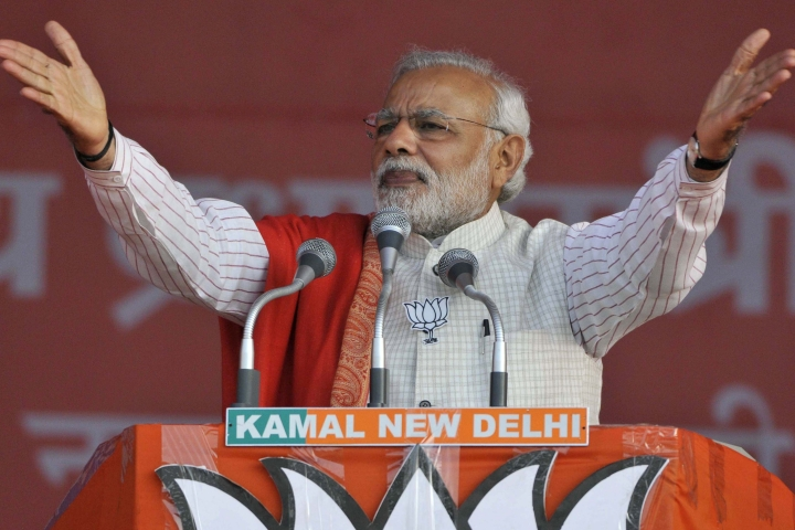 Multi-Phase Polls:  Modi's Advantage Lies In Microcasting Different Messages To Regions Within Each State