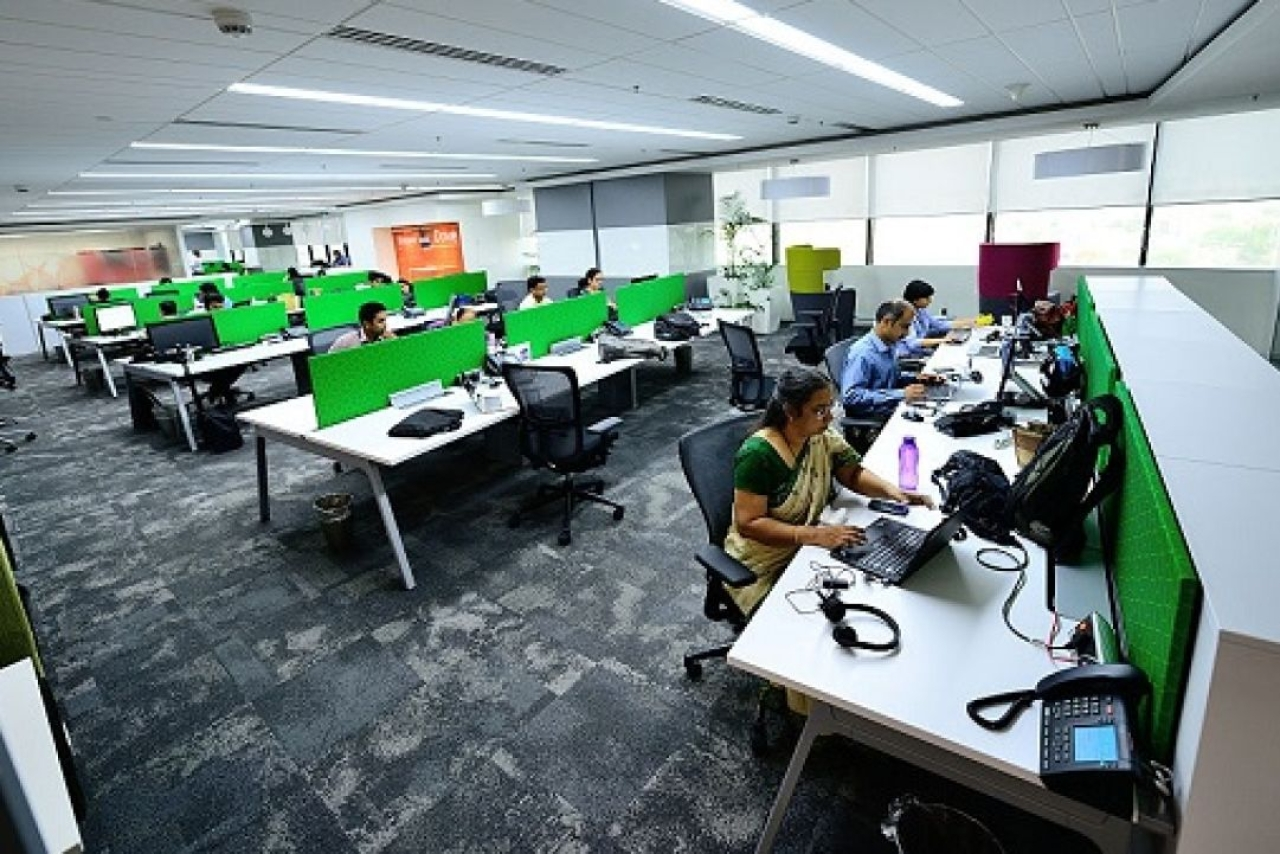 Employees at an IT firm. (Priyanka Parashar/Mint via Getty Images