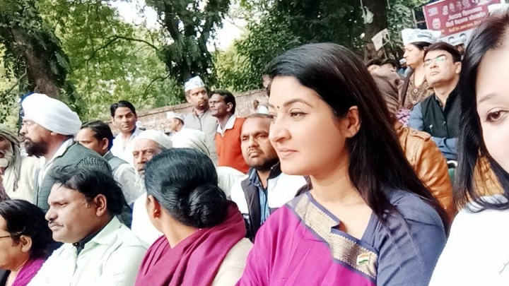 Chandni Chowk MLA Alka Lamba Tweets 'Good Bye' To AAP, Expected To Rejoin Congress