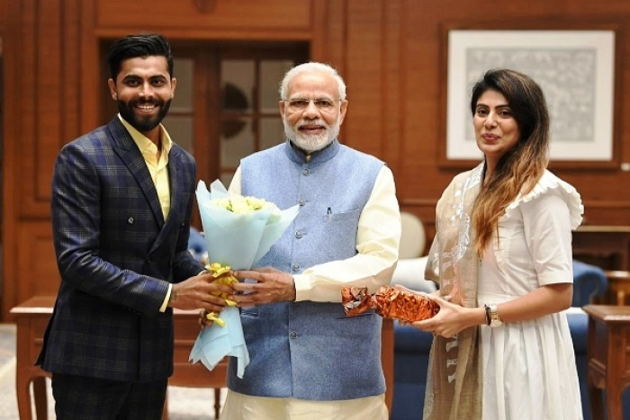 After Wife Joins BJP, Father And Sister Join Congress; Cricketer Ravindra Jadeja Publicly Backs BJP