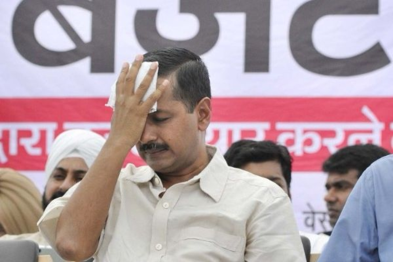 Aam Aadmi Party chief and Delhi CM Arvind Kejriwal (Sushil Kumar/Hindustan Times via Getty Images)