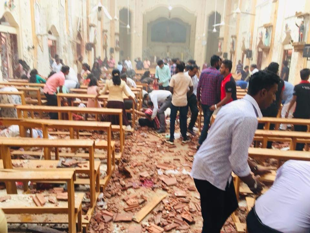 Catholic Churches In Sri Lanka Cancel Public Mass Until Security Situation Improves