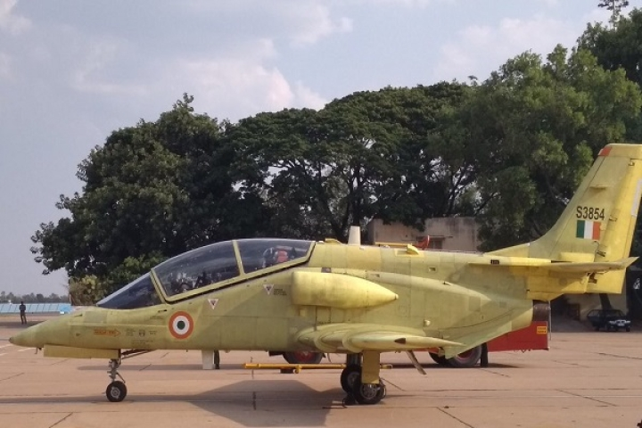 After Rectifying Snags, HAL Successfully Tests Modified HJT-36 Sitara Intermediate Jet Trainer In Bengaluru