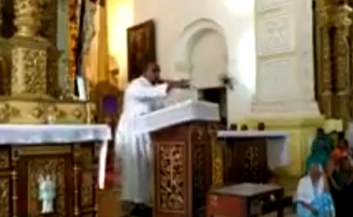 'Amit Shah Is A Devil': Video Shows Goa Church Priest  Warning Against Voting For BJP; Says God Punished Parrikar With Cancer