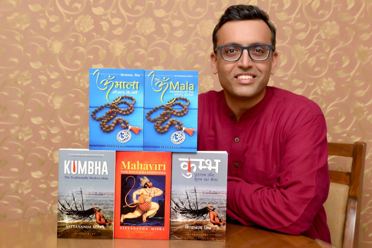 Author and Sanskrit scholar Nityanand Misra is an alumnus of IIM-Bangalore.