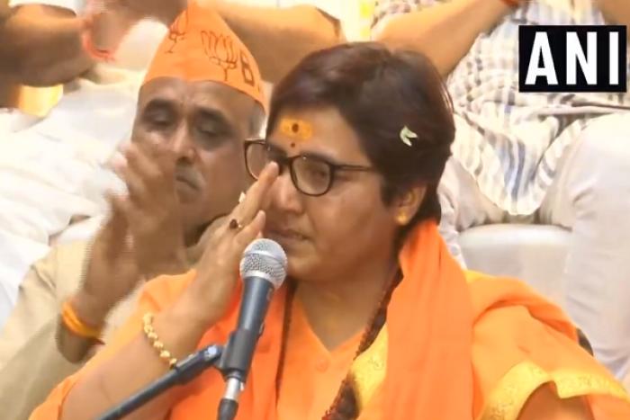 BJP Candidate Sadhvi Pragya Breaks Down While Narrating Ordeal Of Police Torture And Beatings