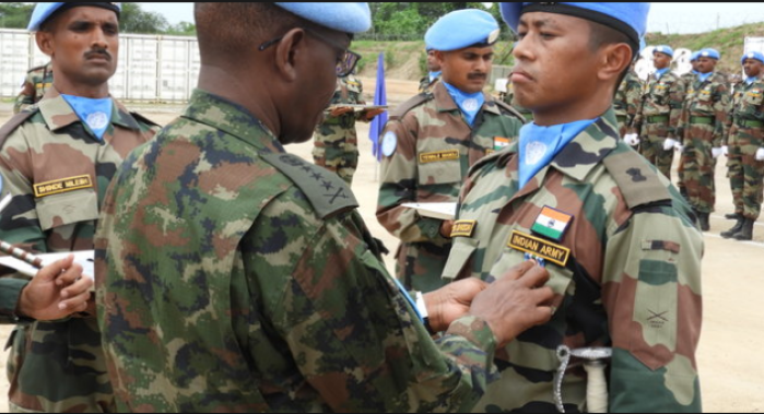 150 Indian Peacekeepers Awarded Medal Of Honour For Dedicated Service In South Sudan By UN