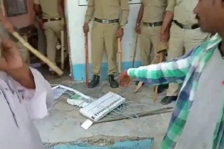 Amidst Smashed EVMs, Political Clashes, Violence; Bengal Police Calls Voting In The State 'Mostly Peaceful'