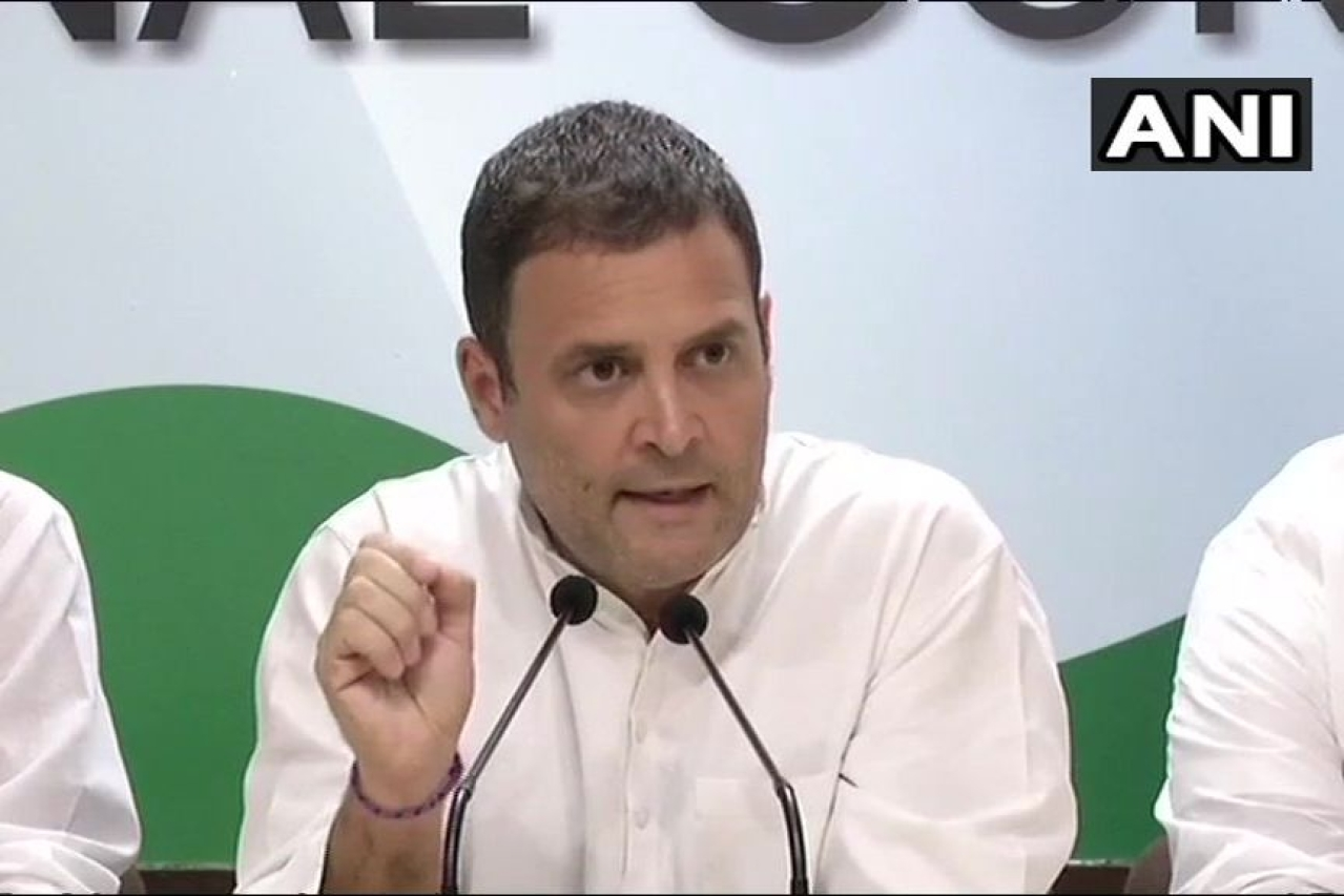 Rahul Gandhi Again Expresses Regret For Falsely Attributing 'Chowkidar Chor Hai' Jibe To SC