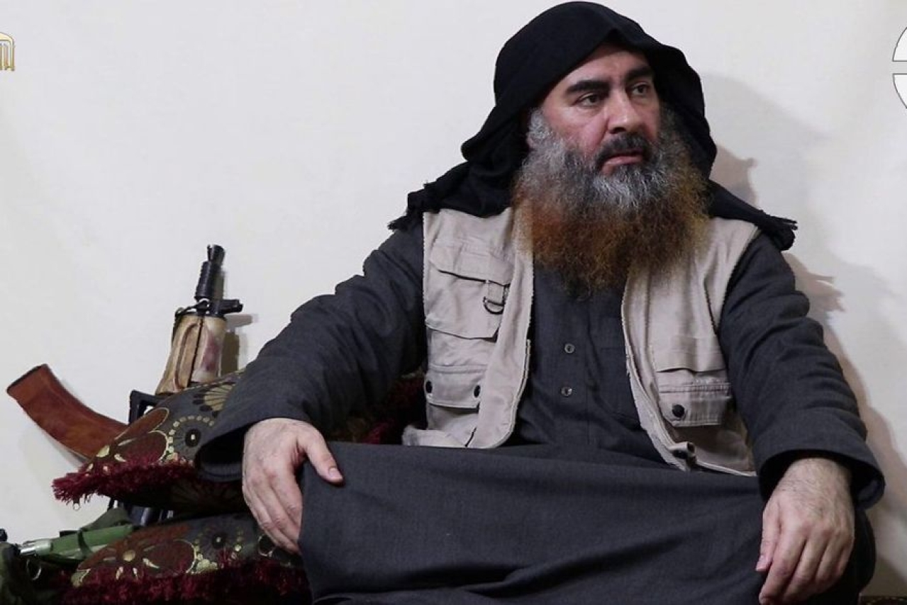 ISIS Chief Al-Baghdadi Appears In First Video In Five Years, Mentions Easter Sunday Blasts In Sri Lanka