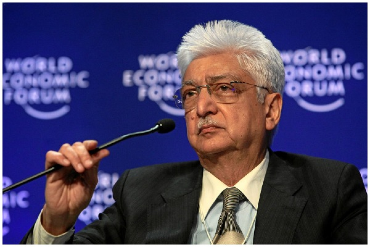 Azim Premji, chairman of Wipro, India (© Monika Flueckiger / World Economic Forum, swiss-image.ch / CC-BY-SA-2.0)