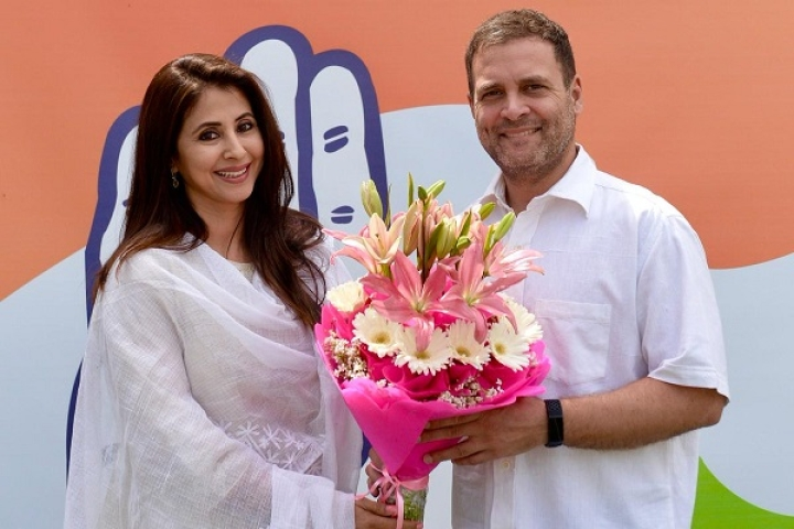 Actor Urmila Matondkar Quits Congress, Claims She Was Being Used By Party For Internal Fights
