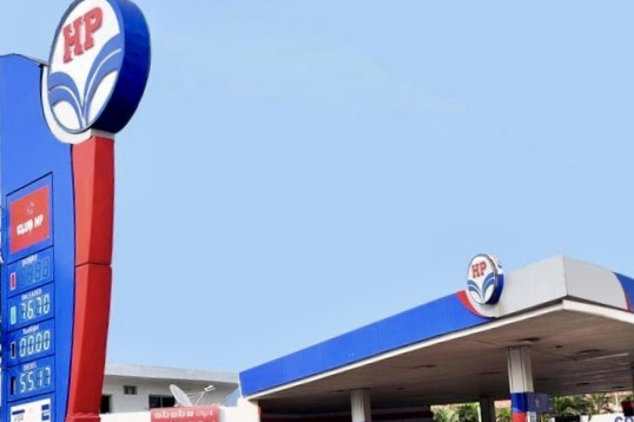 A fuel station run by HPCL