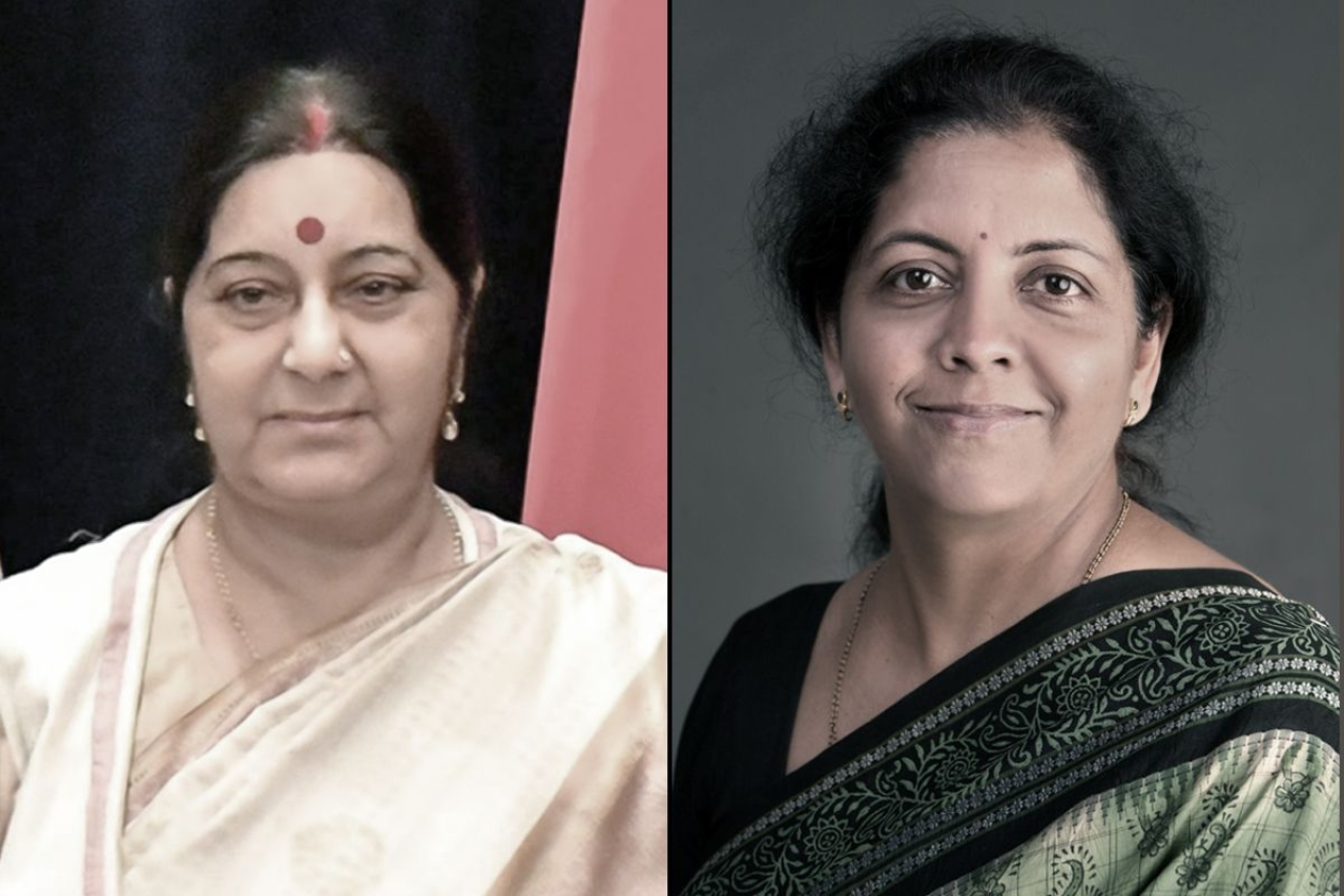 External Affairs Minister Sushma Swaraj and Defence Minister Nirmala Sitharaman