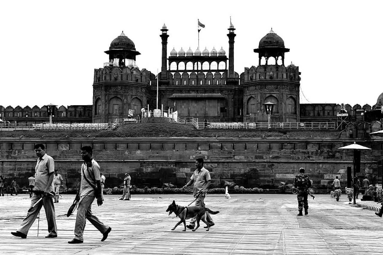 Red Fort in Delhi. (SAJJAD HUSSAIN/AFP/GettyImages)