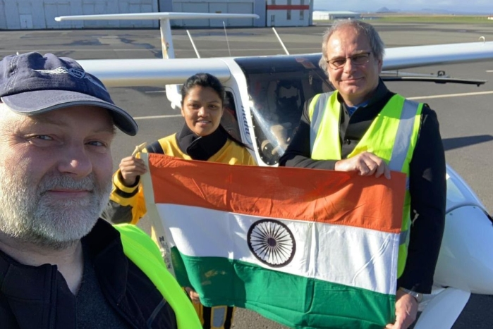 India's Aarohi Pandit Becomes First Woman To Fly Solo Across Atlantic Ocean In A Light Sports Aircraft