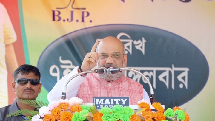 """If Shri Ram's Name Is Not Taken In India, Will It Be Chanted In Pakistan?"" Amit Shah Asks Mamata Banerjee"