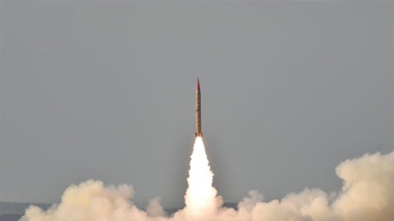 Pakistan Successfully Test Fires Nuclear-Capable Shaheen II Missile
