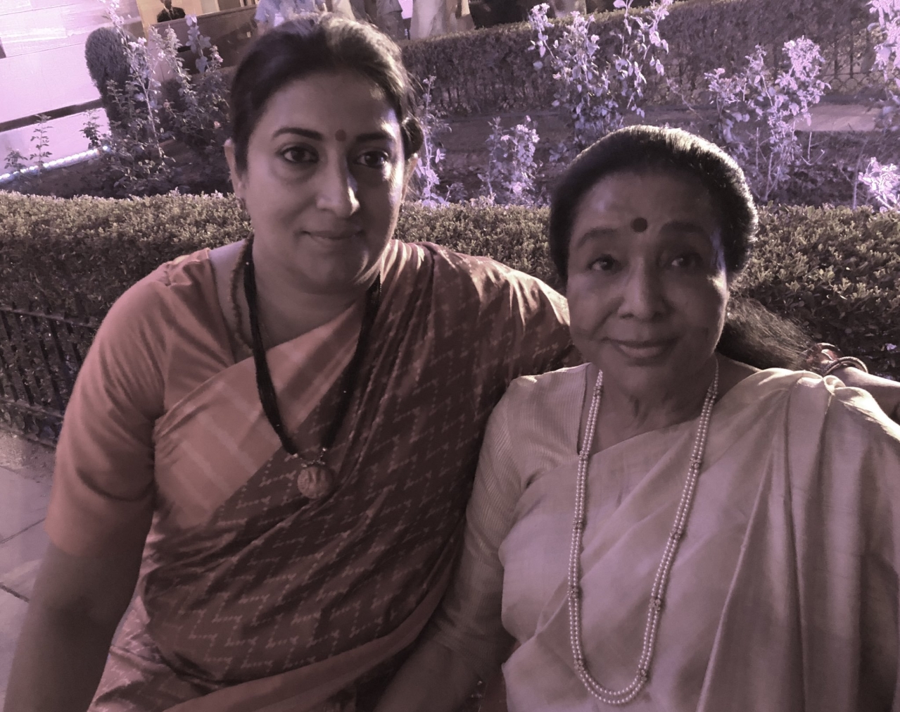 'She Won Because She Cares': Asha Bhosle Praises Smriti Irani For Helping Her Get Home After Swearing-In Rush