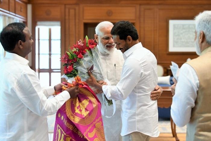 Andhra CM-Designate Jaganmohan Reddy Meets PM Modi In Delhi, Extends Invite For Oath-Taking Ceremony In Vijayawada