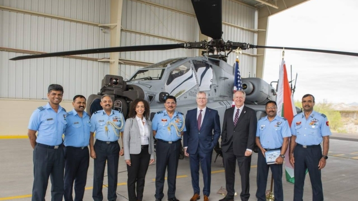 Indian Air Force To Deploy First Batch Of Apache Guardian Helicopter In North-East India By July