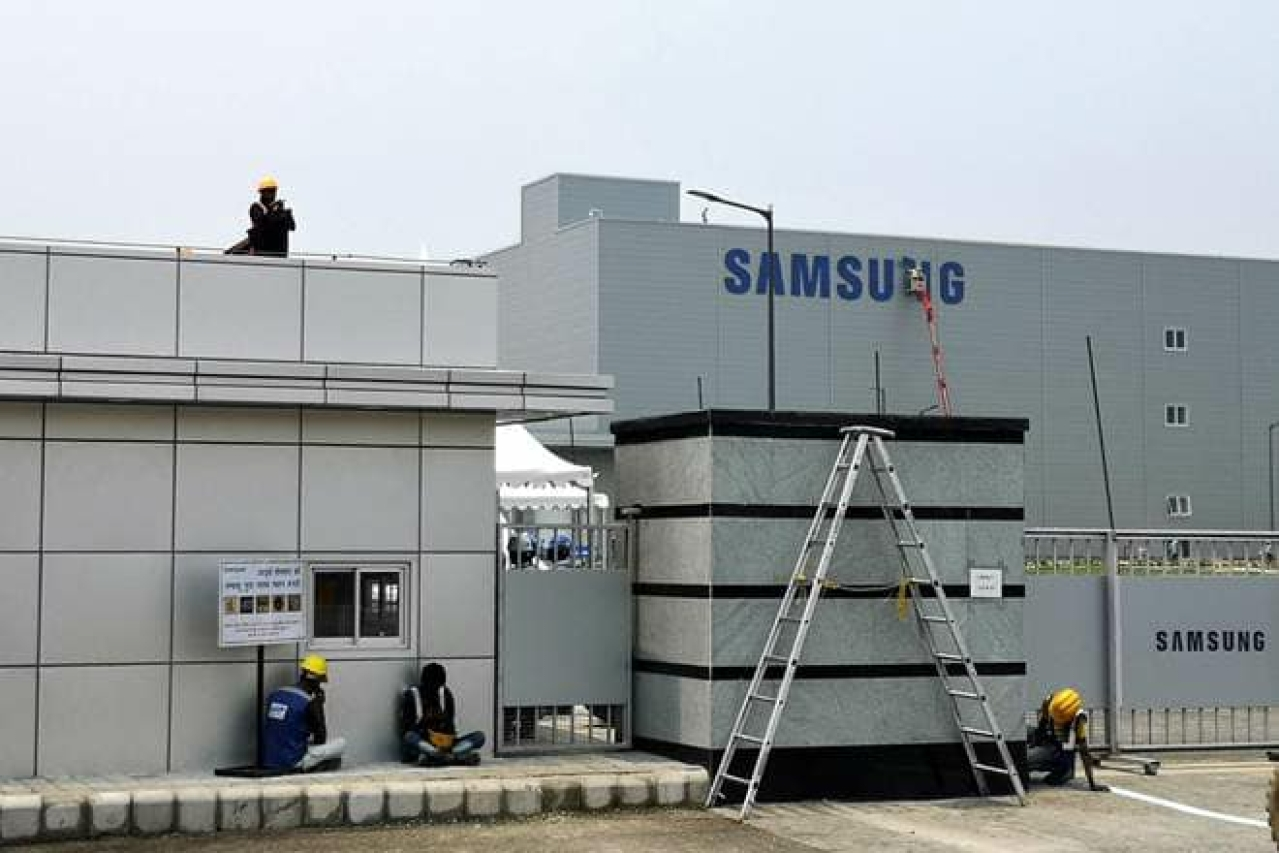In 2018, Samsung had inaugurated the world's largest mobile phone manufacturing unit with a budget of Rs 4,915 crore in Noida. (Image via Facebook)