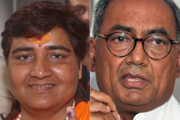 MP: Senior Congress Leaders Digvijaya Singh, Jyotiraditya Scindia Trailing In Bhopal And Guna