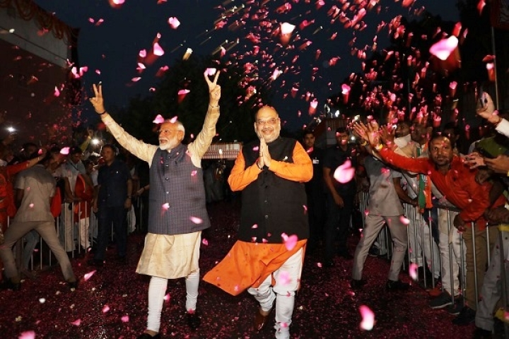 Final Lok Sabha 2019 Tally Is Officially Here: BJP Wins Record 303 Seats, Congress Manages  52