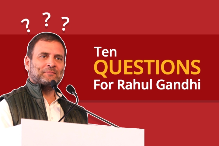 Elections 2019: Ten Questions Any Serious Journalist Would Have Asked Rahul Gandhi