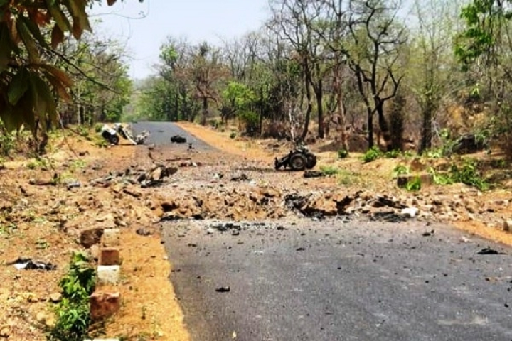 Maharashtra: 16 Security Personnel Martyred In Naxal IED Attack On Police Vehicle In Gadchiroli