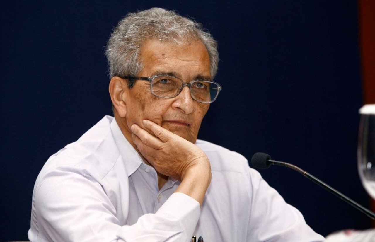 Amartya Sen. (Subir Halder/India Today Group/GettyImages)