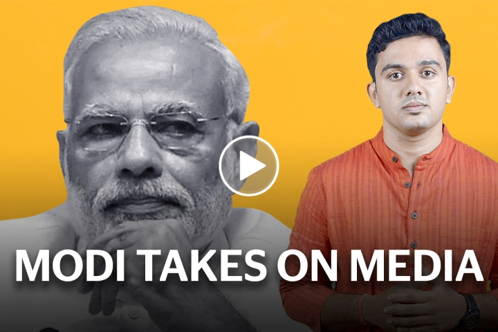 When Modi Called Out Media Bias