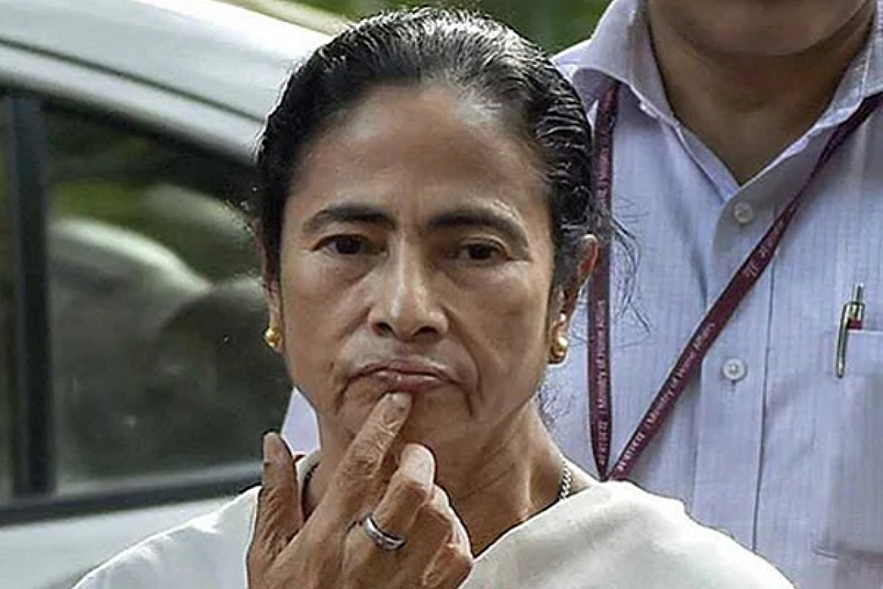 West Bengal Chief Minister Mamata Banerjee (@AITCofficial/Twitter)