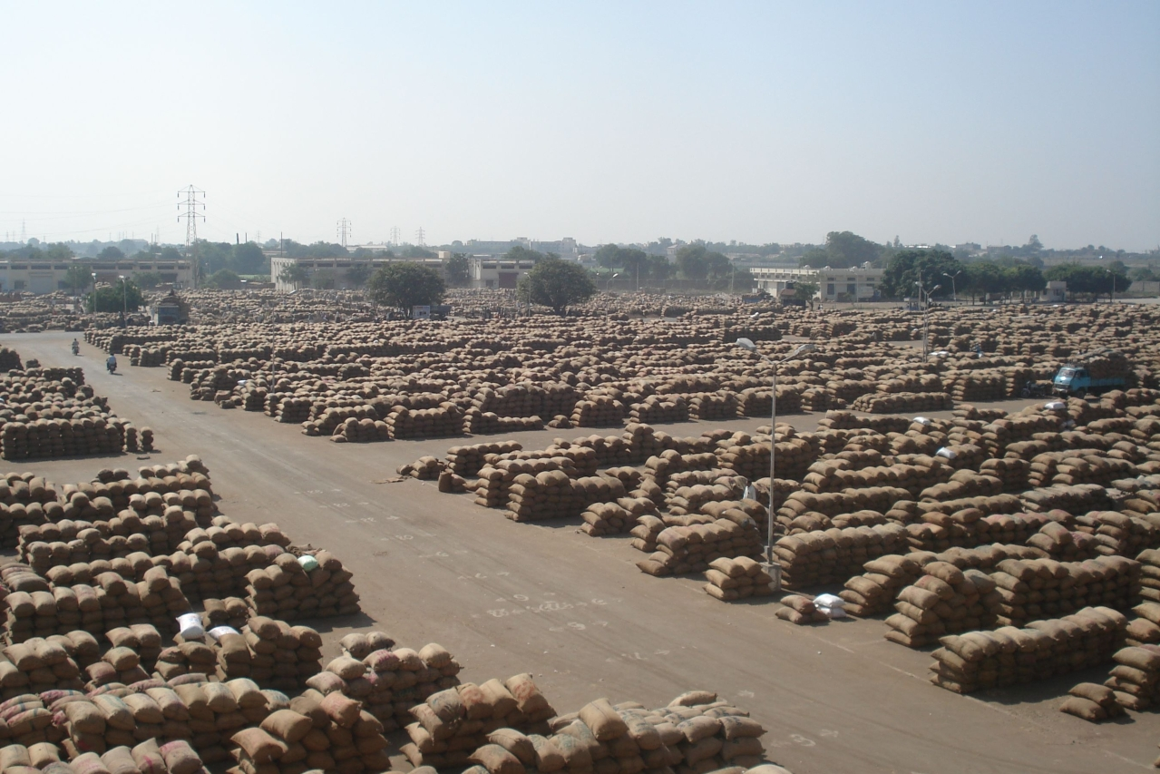 Modernisation of foodgrain storage is crucial.
