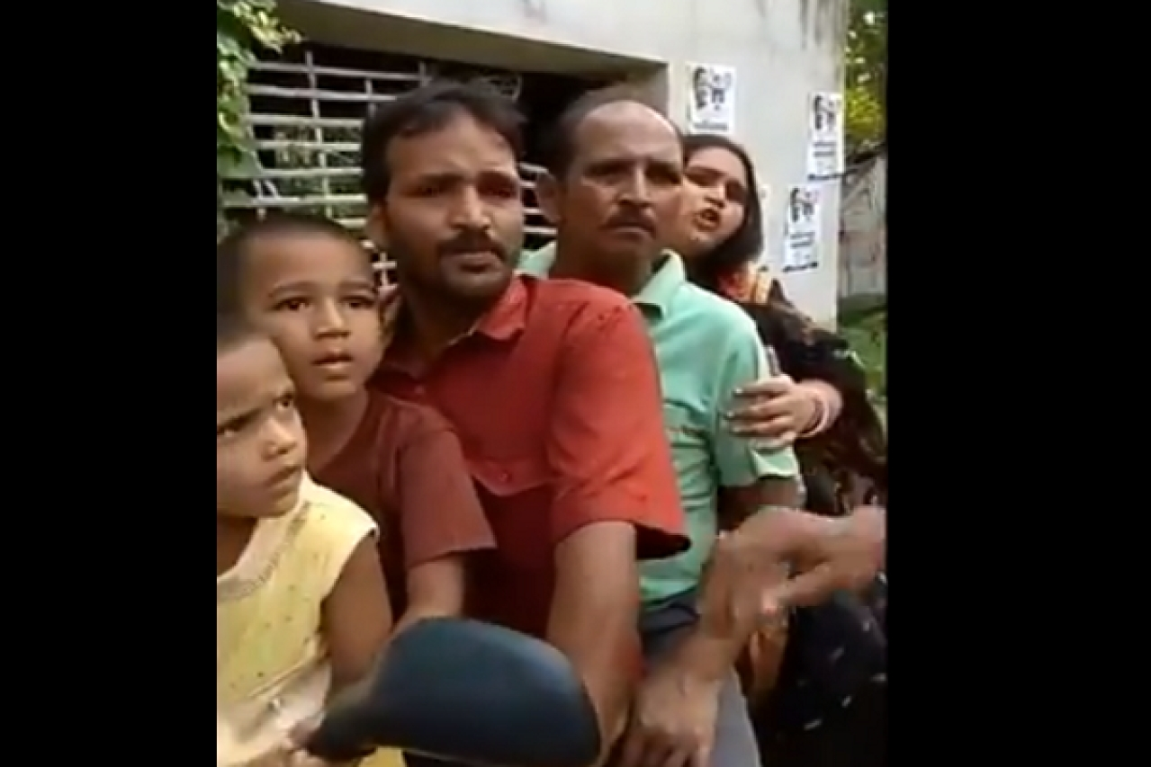 Watch: Hindu Families In West Bengal Flee Their Homes After Mosques Call For Non-Muslims To Be Killed