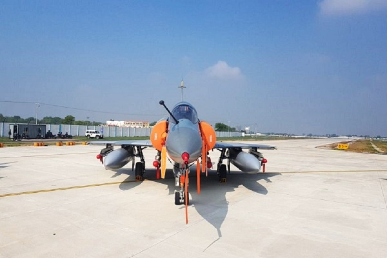 Watch: IAF's Mirage 2000 Jet Fitted With Spice Bombs Just