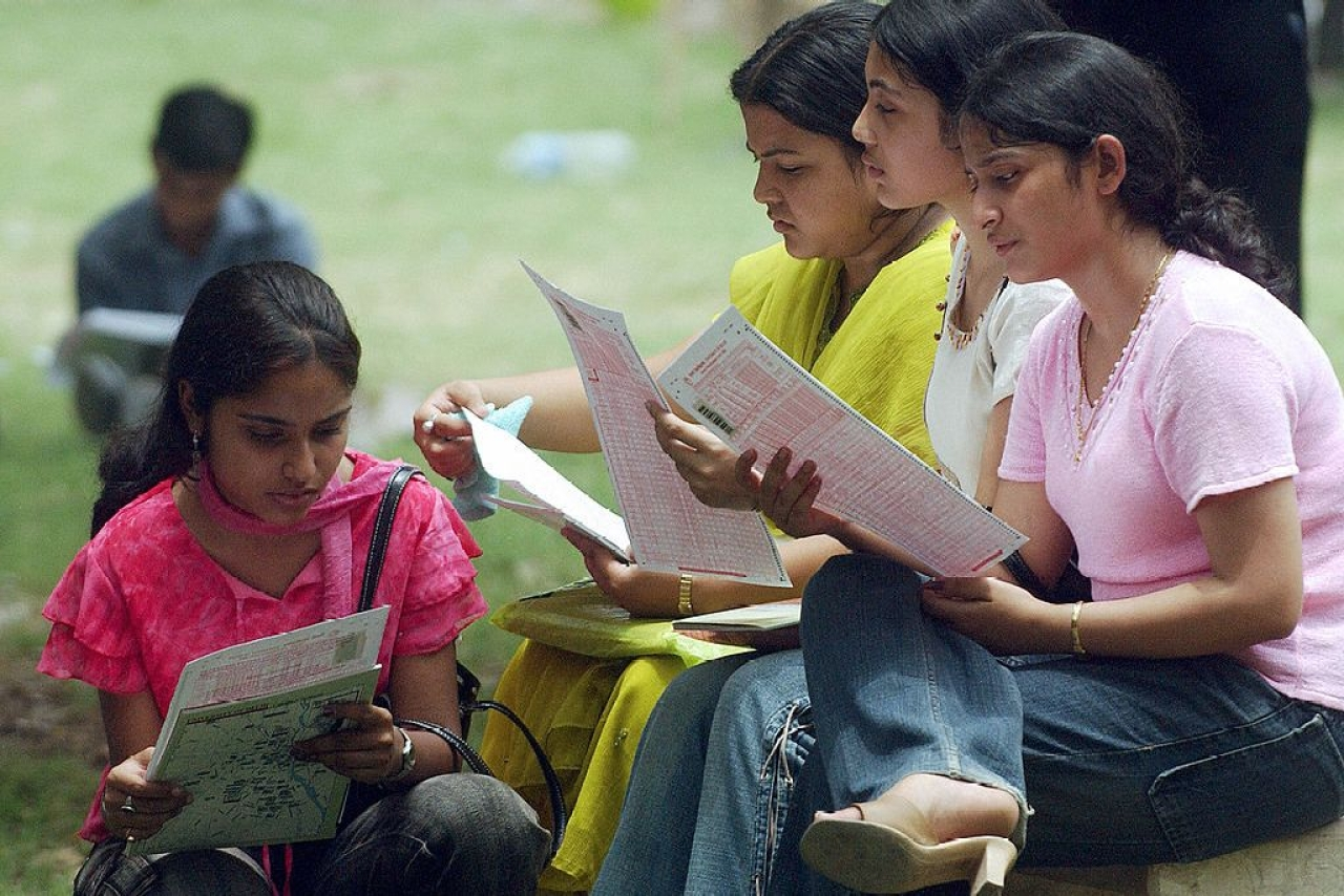 More and more women are going in for higher education in India. (MANPREET ROMANA/AFP/Getty Images)