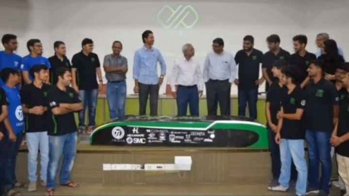 IIT Madras' Avishkar Hyperloop Team Unveils Hyperloop Pod; Among 21 Teams To Participate In SpaceX Competition