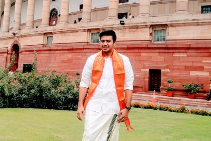 This Is New India Where A Middle Class Youth Can Be Youngsters' Voice In Lok Sabha: Tejaswi Surya In Maiden Speech