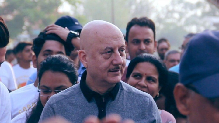 Bollywood Veteran Anupam Kher Enters Top 10 'Most Influential Actor On Social Media In Hollywood' List