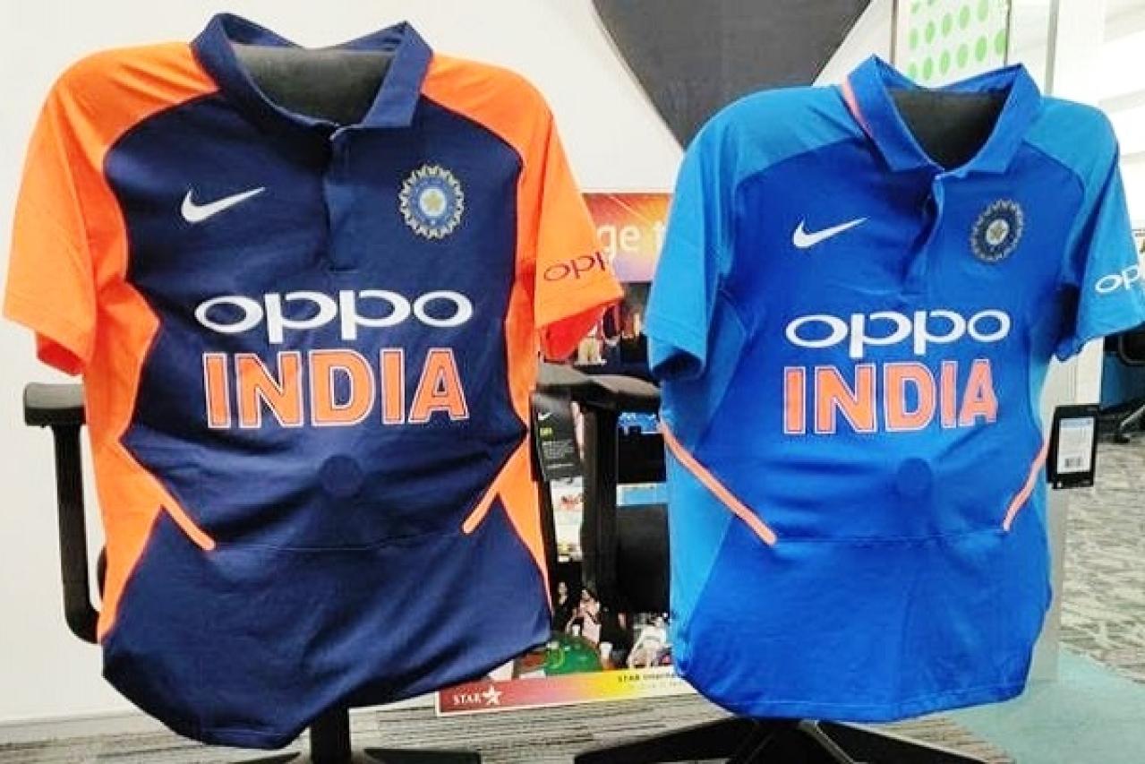Congress Leader Opposes Team India S Orange Jersey Calls It