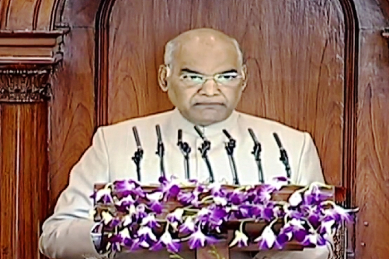 'Air Strike Has Made India's Intentions Clear': Here Are The Highlights Of President Kovind's Parliament Address