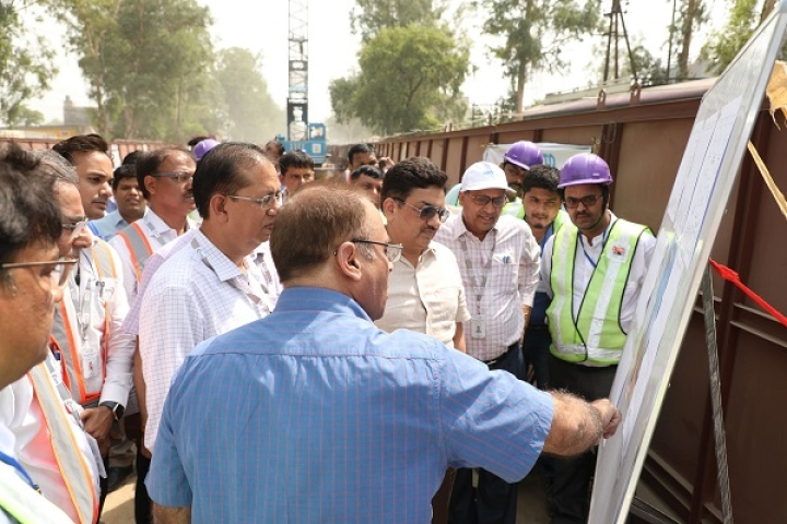 Delhi-Meerut RRTS Corridor: NCRTC Initiates Piling Work For Viaduct Foundation Near Duhai