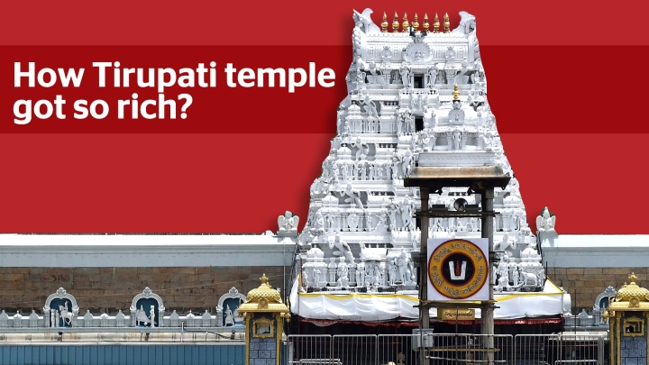 How Tirupati Temple Came To Be Among The Richest In The World