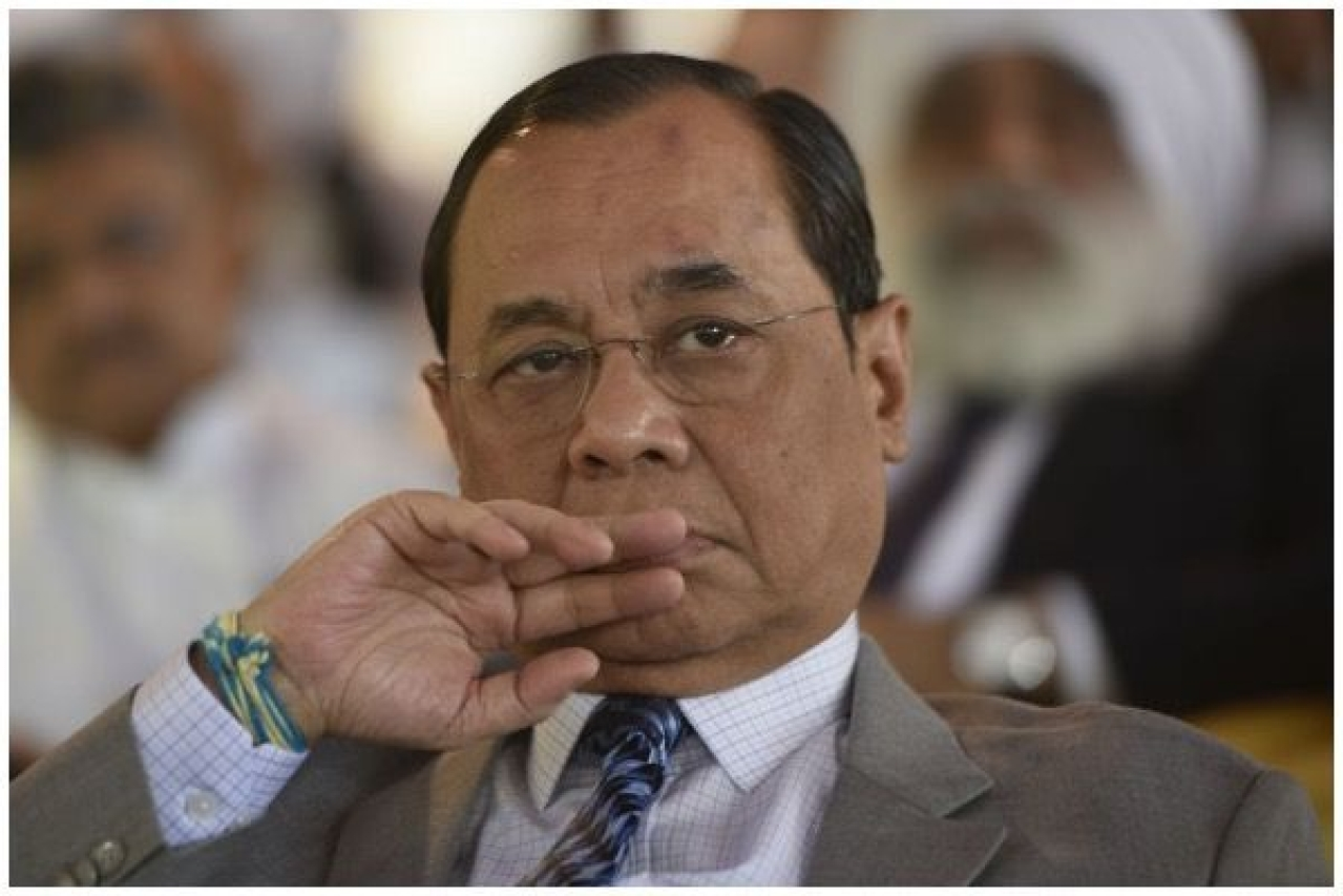Chief Justice of India  Ranjan Gogoi. (Vipin Kumar/Hindustan Times via Getty Images)