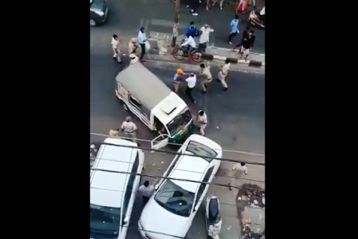 Watch: Pro-Khalistan Slogans Raised In Delhi Police Station After Tempo Driver Attacks Cops Using Sword